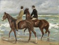Reiter am Strand links Max Liebermann deutscher Impressionismus